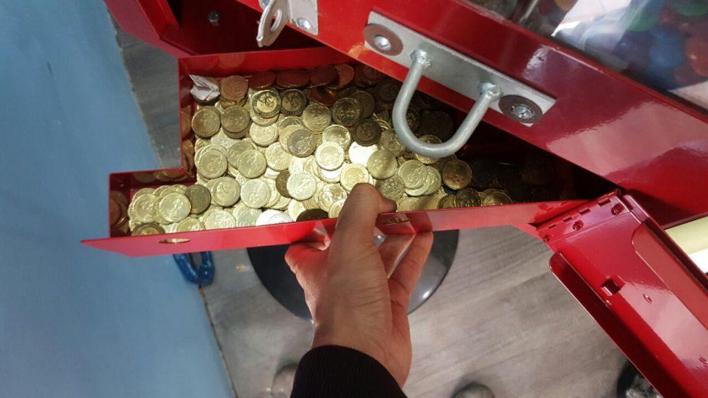 mesin coklat layan diri